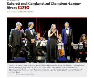 Kabarett und Klangkunst auf Champions-League-Niveau | waz.de | Oberhausen